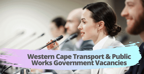 Administrative Officer jobs | Western Cape Transport & Public Works Government Vacancies | Cape Town