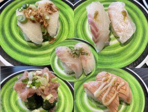 【回転寿司】ニューヨークでも食べれるなんて感激「くら寿司」