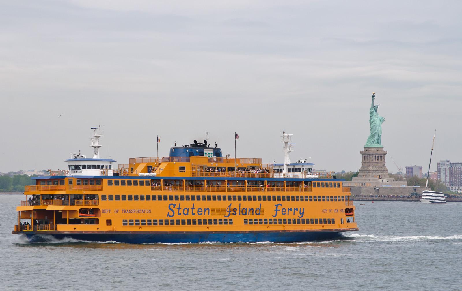 【裏技】無料で自由の女神が楽しめる スタテンアイランド・フェリー(Staten Island Ferry)