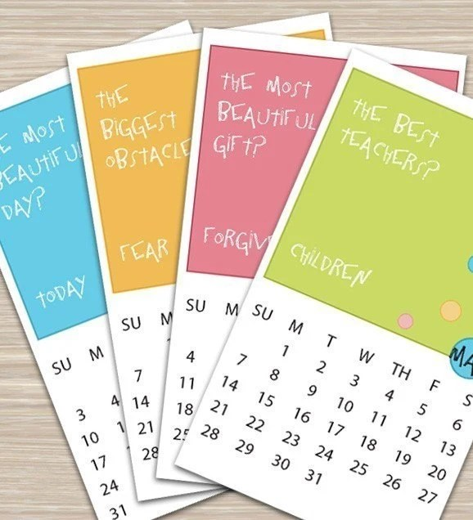 Truths of Life - Printable 2010 Calendar