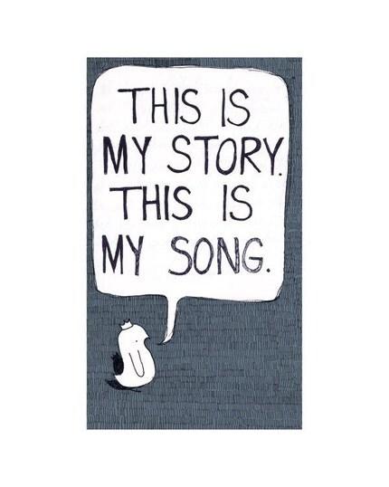 My Story print