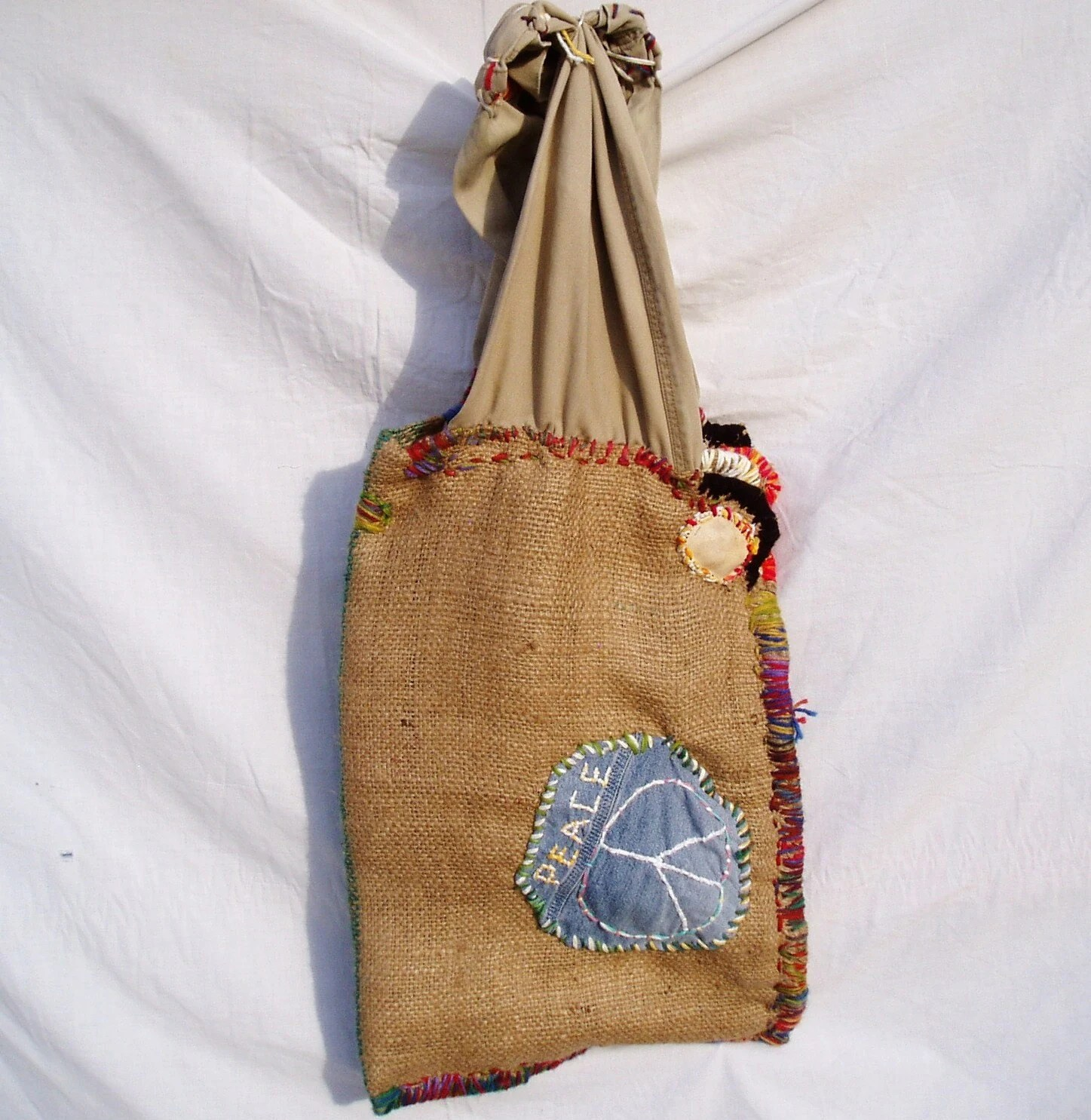 Hong Kong Willie Peace Bag - Hippie Bag -  FREE SHIPPING
