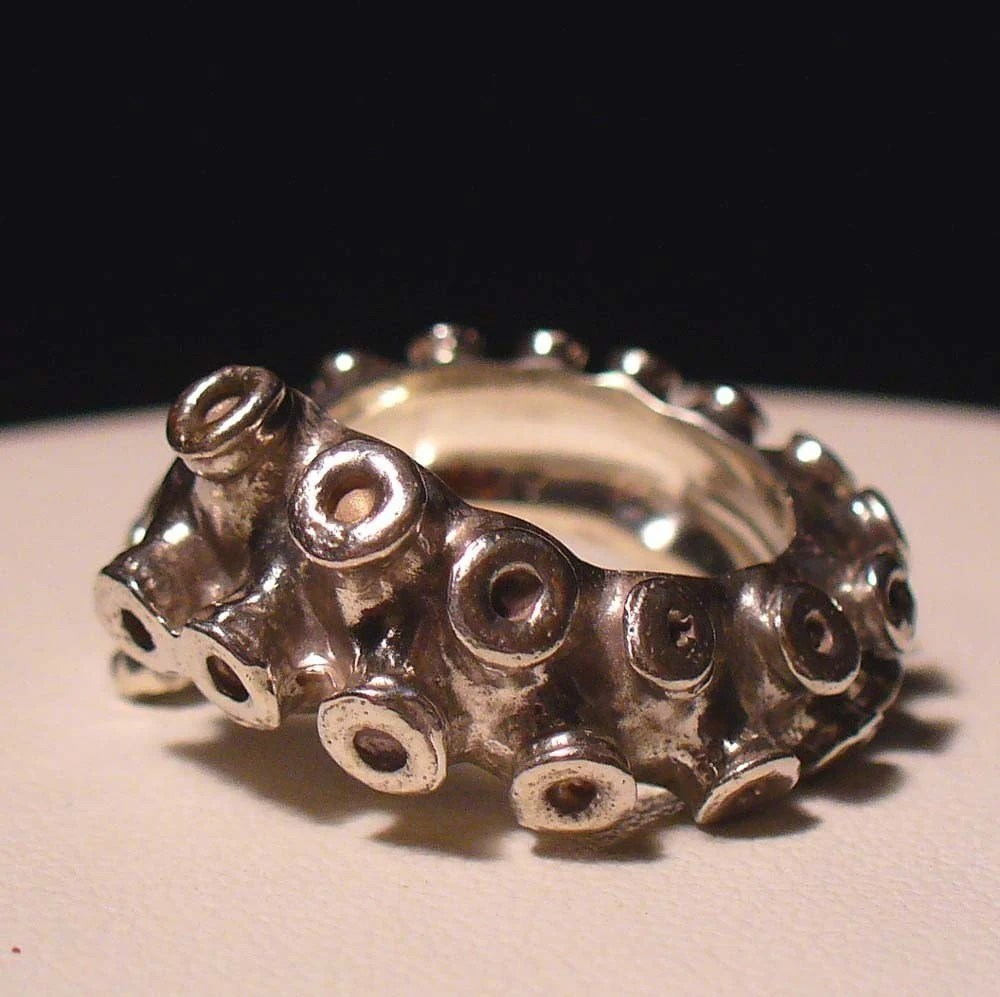 Size 4-7 Tentacle Ring ($160.00)