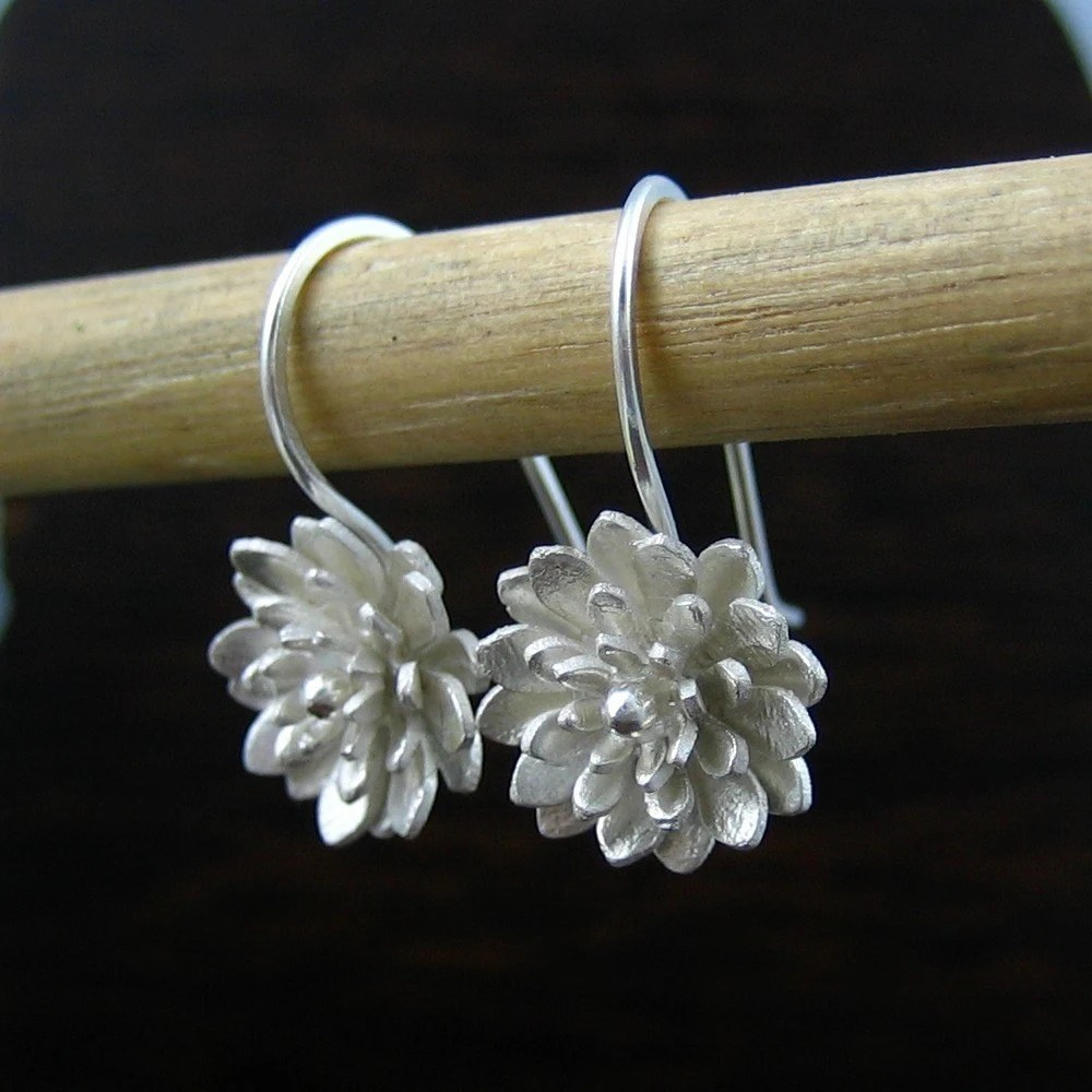 Free Shipping - Dahlia earrings vol2