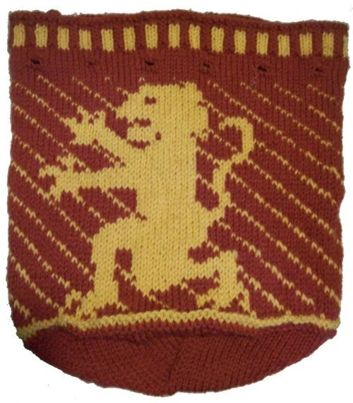 Knitted Lion Bag