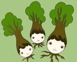 tree folk print
