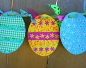 Easter Egg Banner Kid Kit
