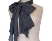 Feather weight cashmere silk scarf