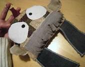 MISTER MUSHROOM recycled doll