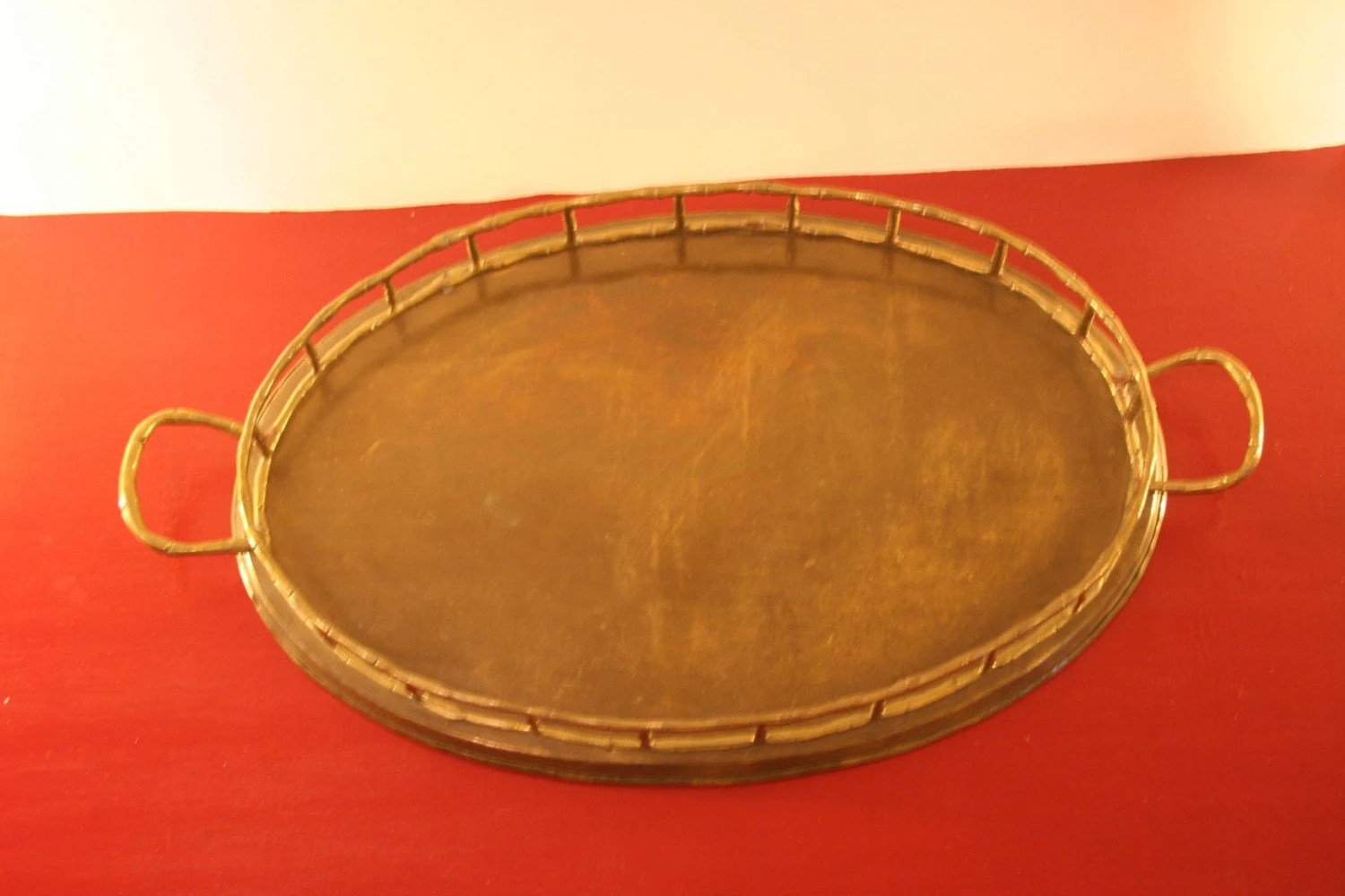 Gold Bamboo Tray