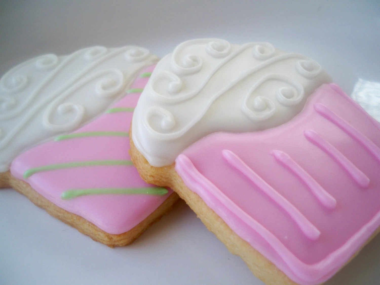Cupcake Cookies, Cupcake Cookie Favors