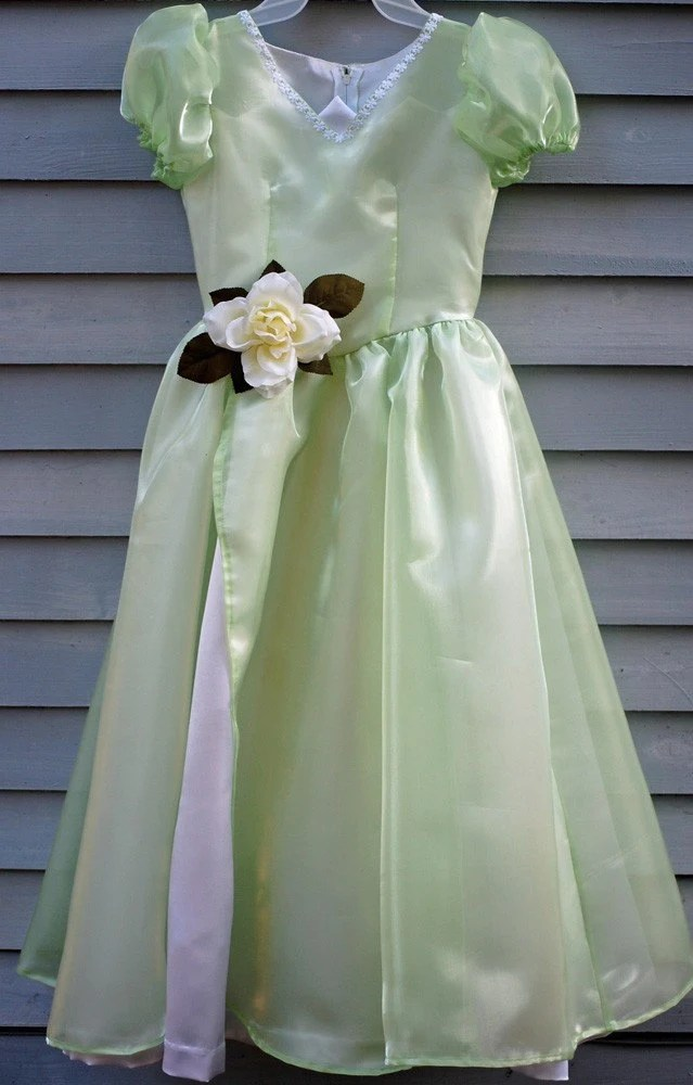 Size 7/8 Princess Tiana dress.