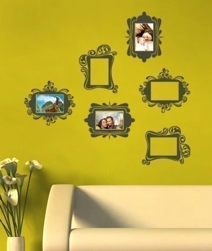 Vintage Photo Frames - Vinyl Wall Sticker