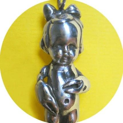 Zodiac Kids SCORPIO (Lobster Baby, silver)