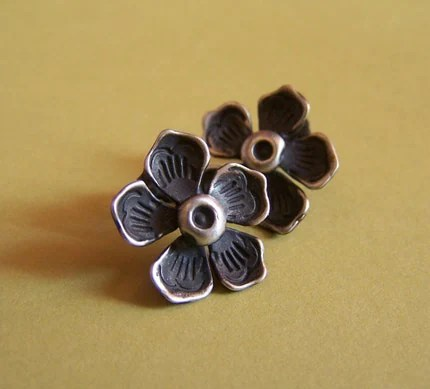 SALE - Magnolia Post Earrings