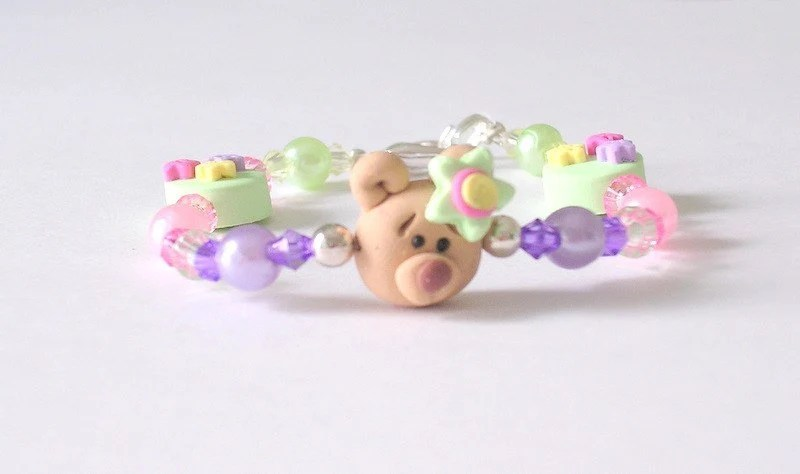 Children's Bear Bracelet