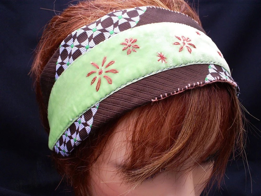 Flower Velour Hairband