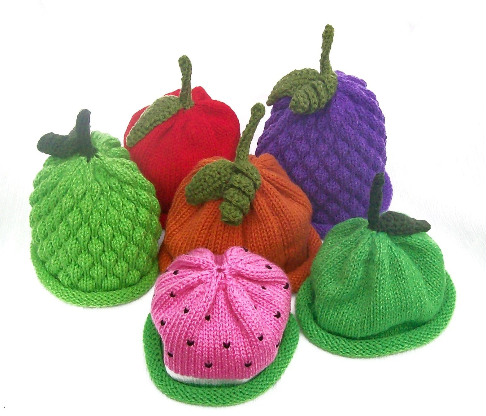Mix and Match Fruit Hats 4 Pack - You Pick
