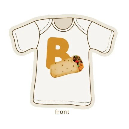 B is for Burrito