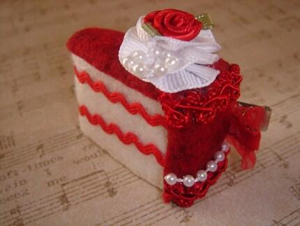 LOVE tea cake hair slice