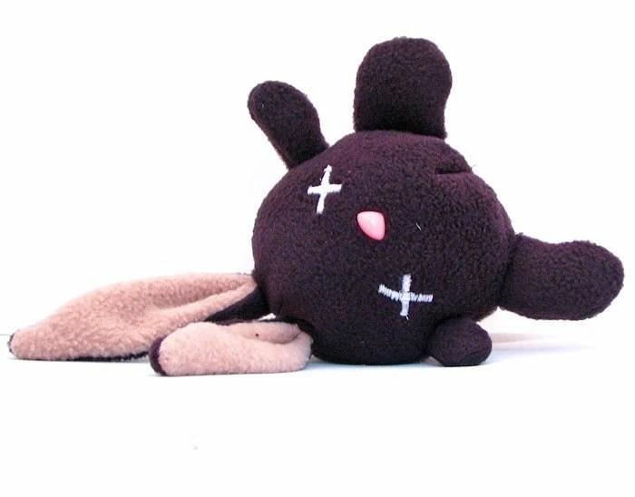 Cute dead bunny