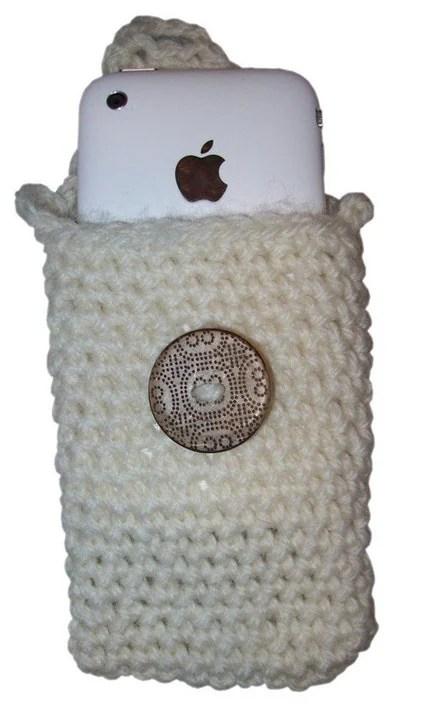 Crochet iPhone Pouch