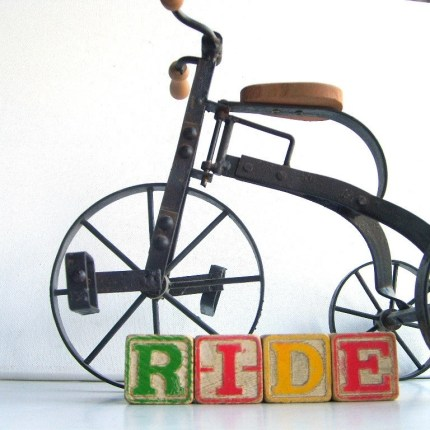 the estate of things chooses vintage tricycle