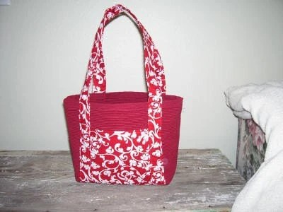 Red Placemat Bag NEW LOWER PRICE