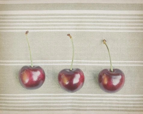 Three Cherries - Original Fine Art Photograph