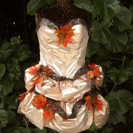 Copper Fall Fairy Costume