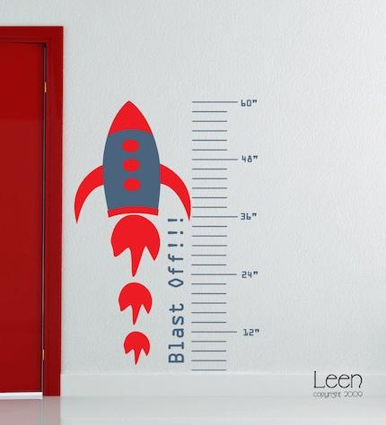Blast Off Rocket Growth Chart
