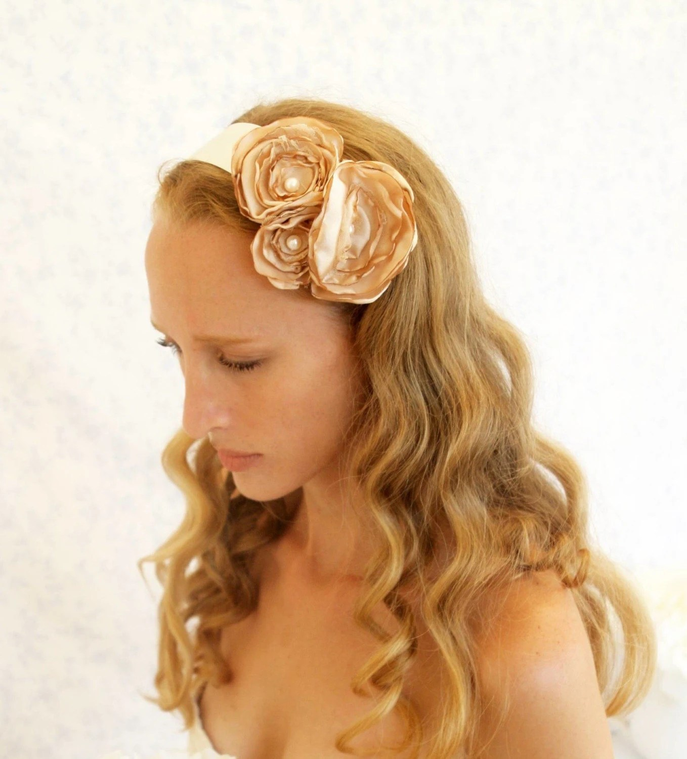 English Garden sash or headband - a Versatile Piece