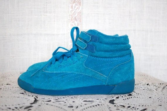 Teal Suede High Tops