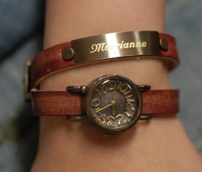 VINTAGE TWINLADY handcrafted watch