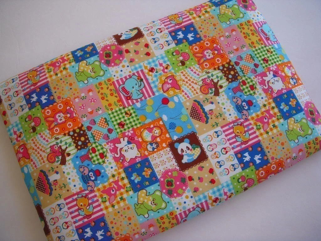 Laptop Sleeve 13 inch Case fits Macbook - Super Kawaii Patchwork