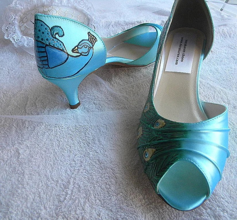 Wedding Planning Blue Shoes