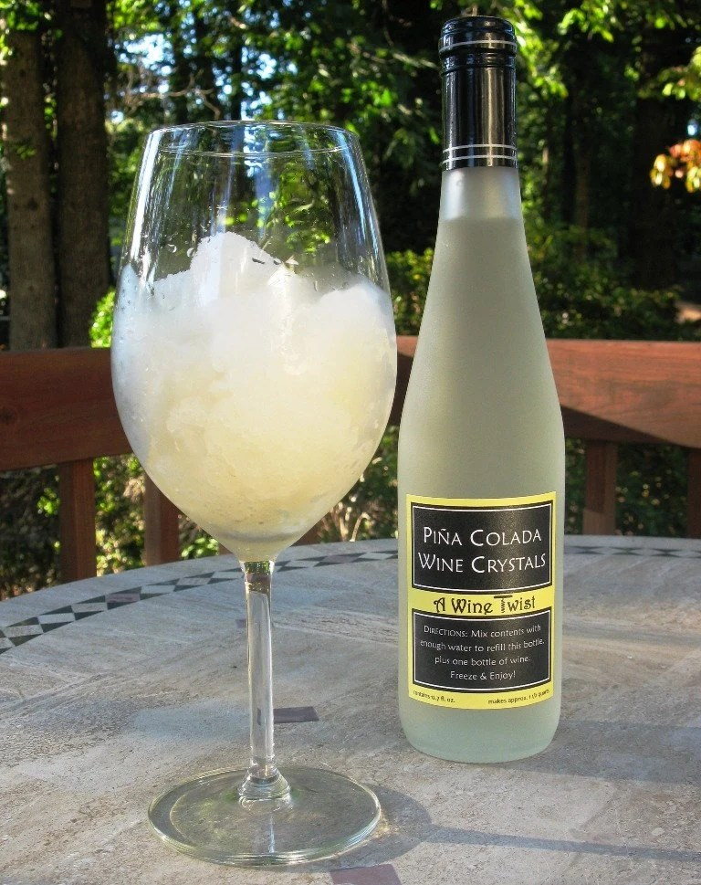 Pina Colada Wine Crystals - Frozen Drink Mix