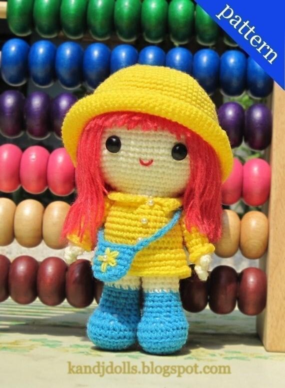 Emily - PDF Amigurumi crochet pattern