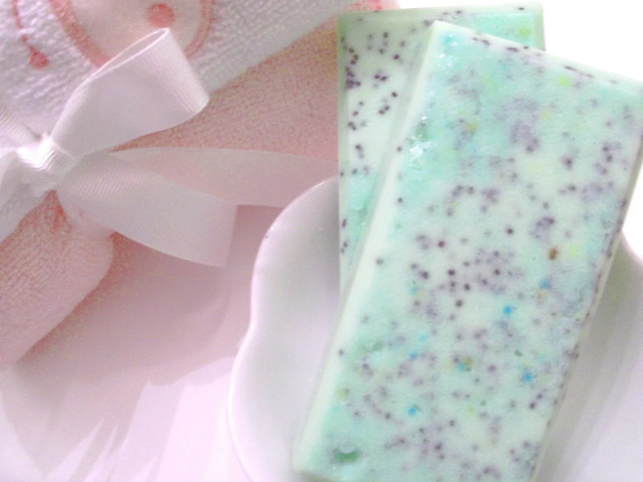 Owlicious Cucumber Mint Sugar Scrub Soap - by Pink Dotted Owl