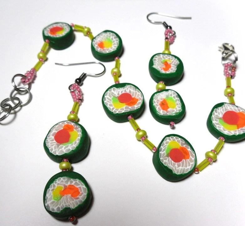 Sushi Jewelry Set