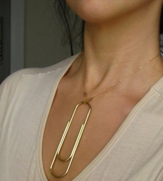 Paperclip Necklace SALE