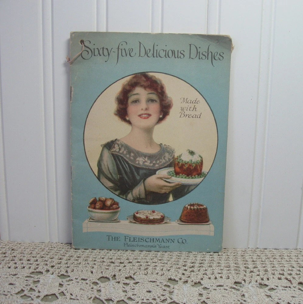 Vintage Bread Recipes 1919