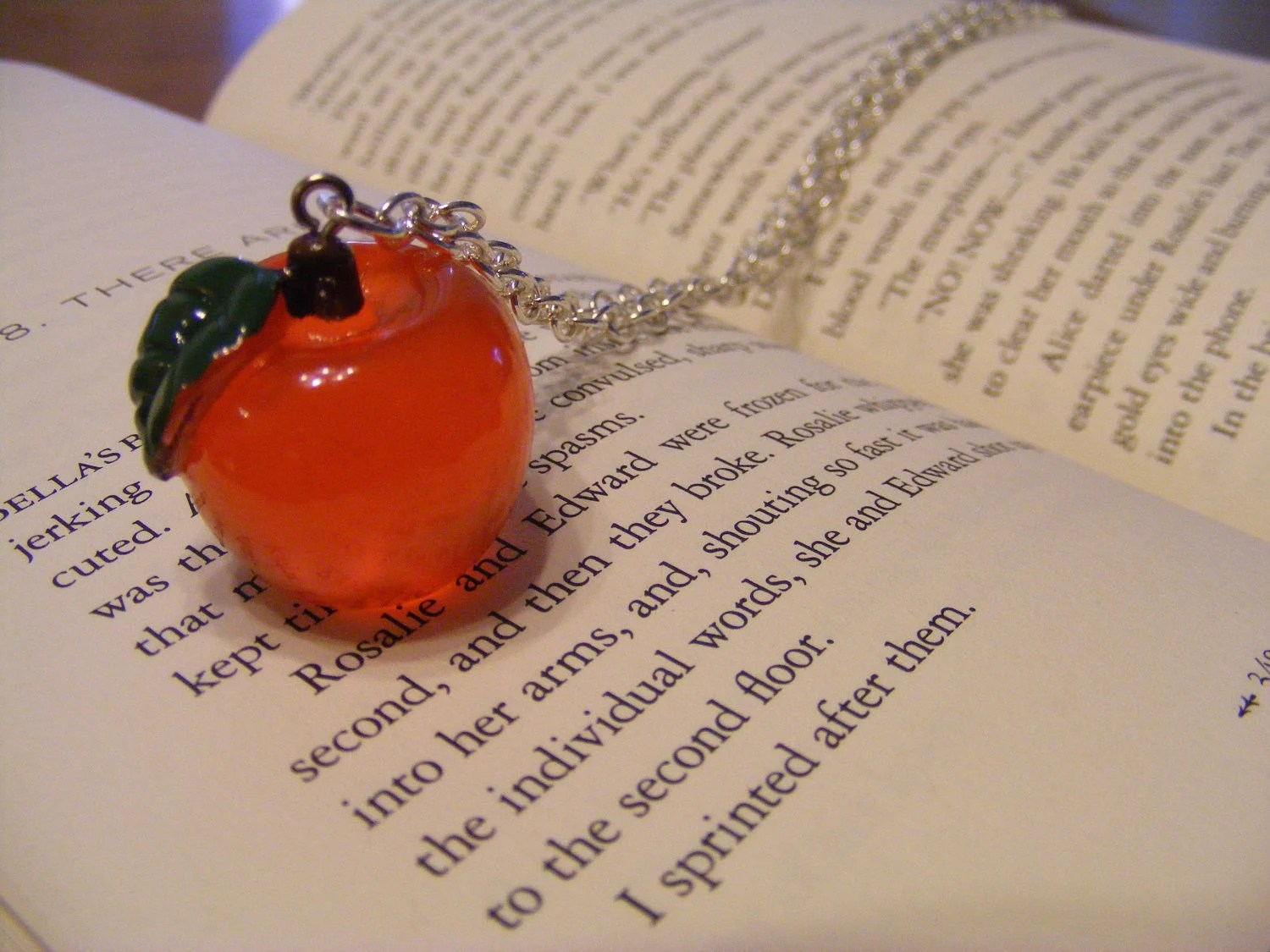 Forbidden Fruit Necklace
