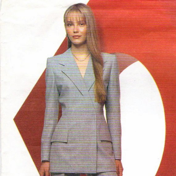 Givenchy by Alexander McQueen pattern, Vogue 2467