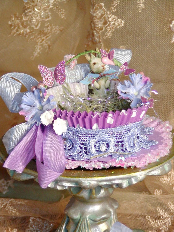 Easter Baskets Sherri Baldy Designs Lavender & Purple
