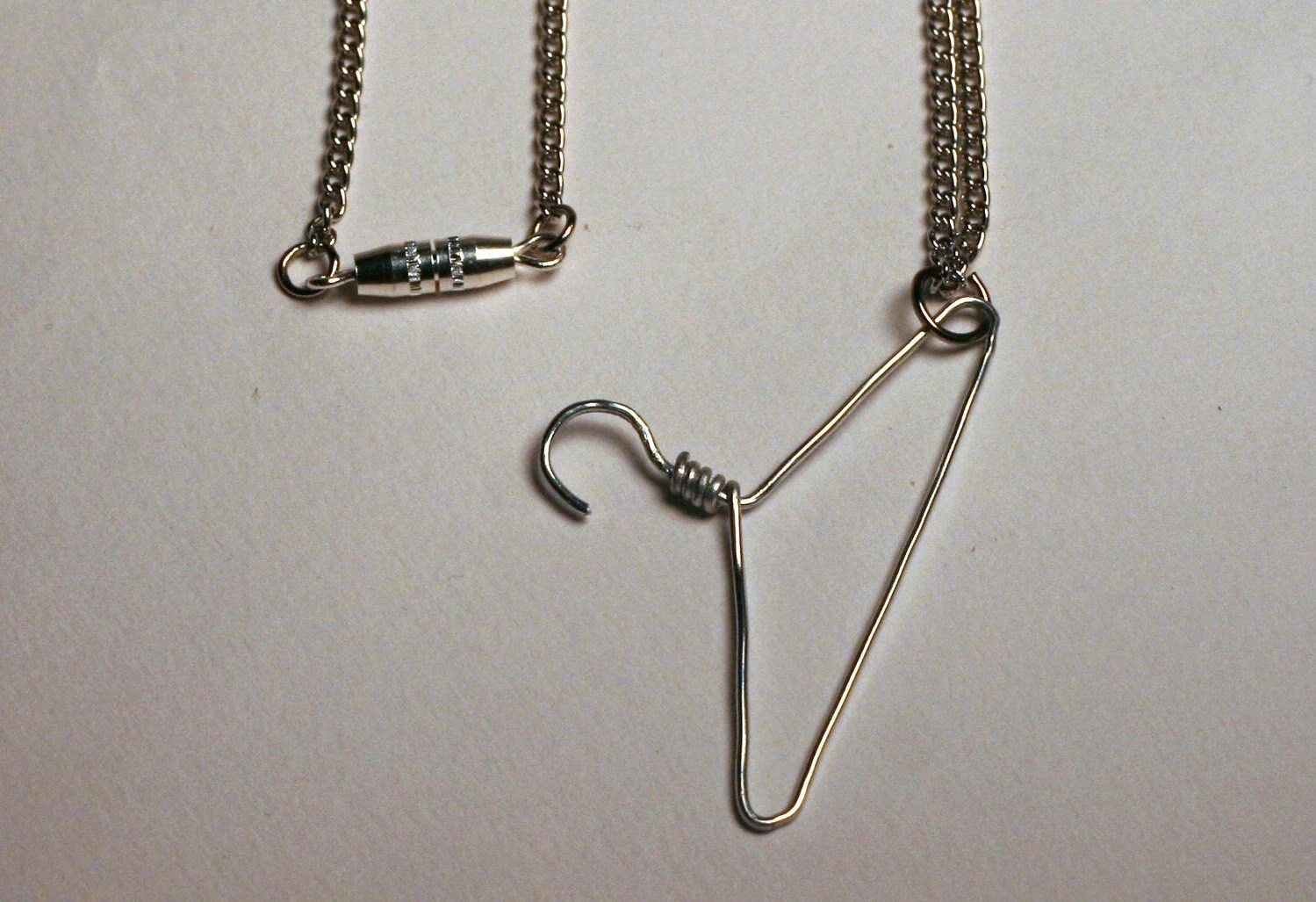 Stand With Planned Parenthood ProChoice Hanger Necklace - All Profits Go To Planned Parenthood