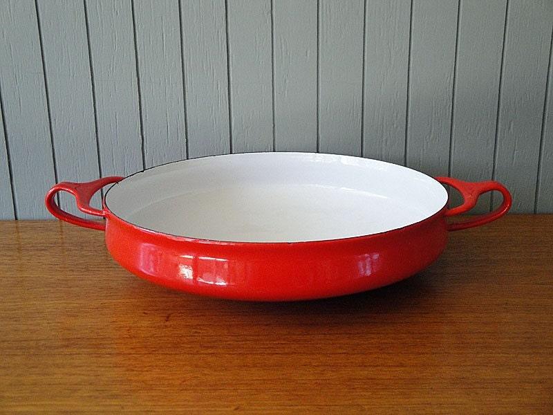 Red Dansk IQ Kobenstyle Paella Pan