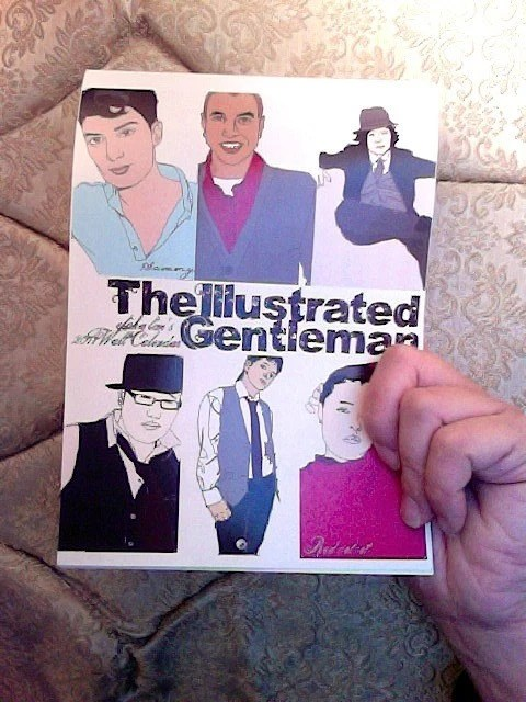 the illustrated gentleman calendar