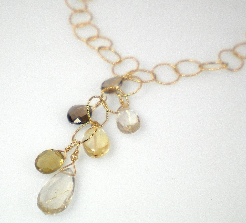 Avalon Rutilated Quartz Necklace