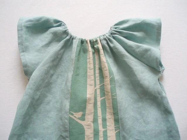 Robins Egg Pure Linen Tuesday Play Dress